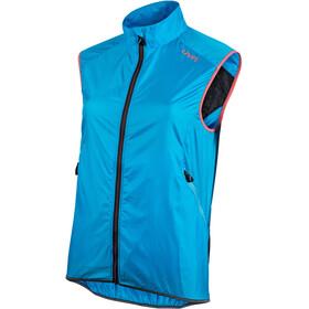 UYN Running Activyon OW Wind Vest Women, turquoise/anthracite melange/sugar coral